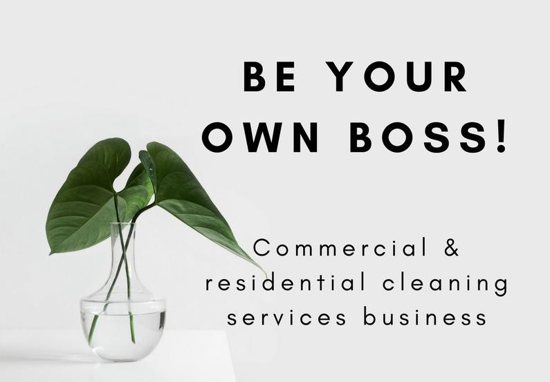 Commercial Cleaning and Property Services Business for sale