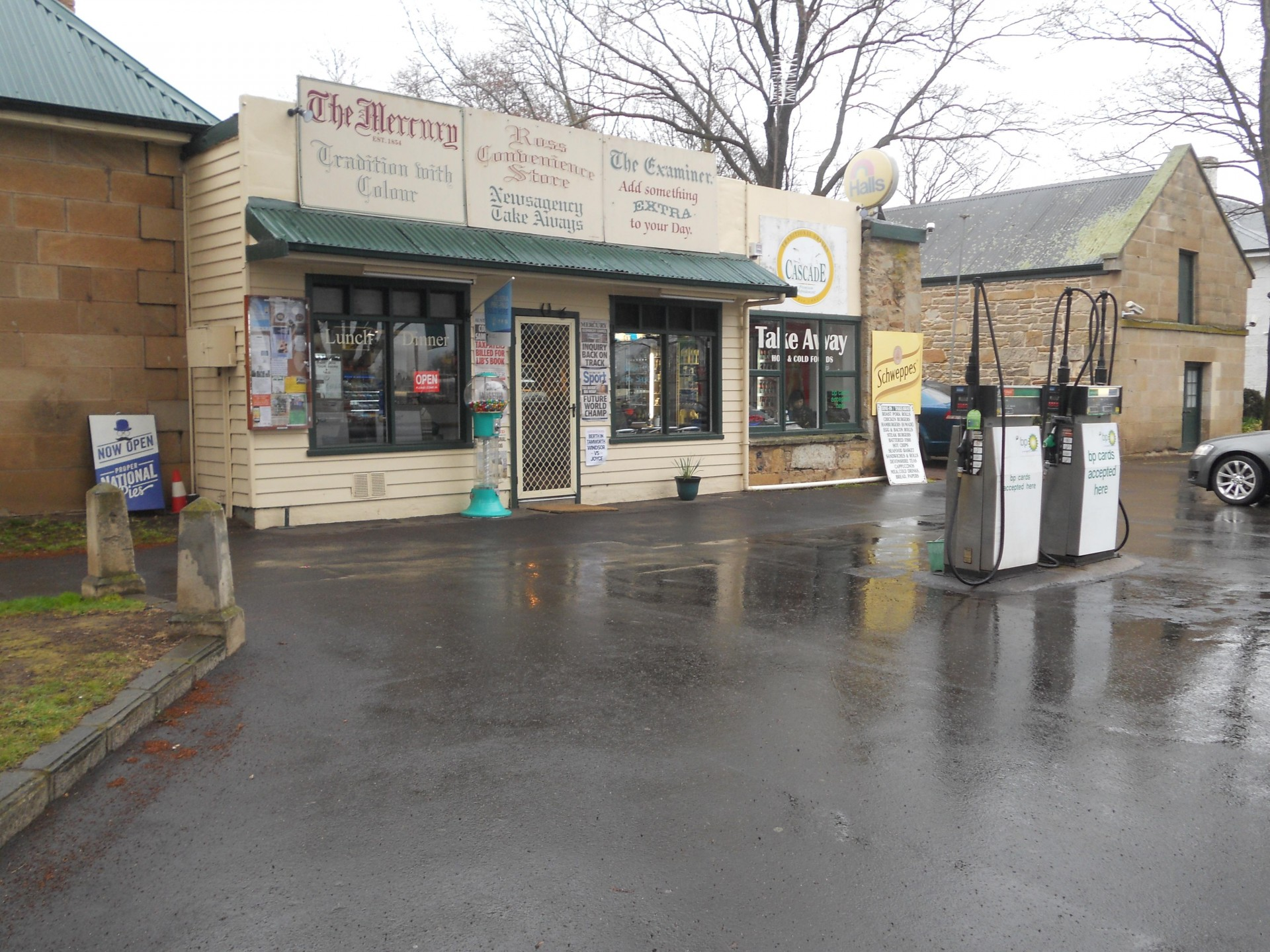 Ross Newsagency, Takeaway, General Store, Fuel Outlet Million $ Turnover, Reduce