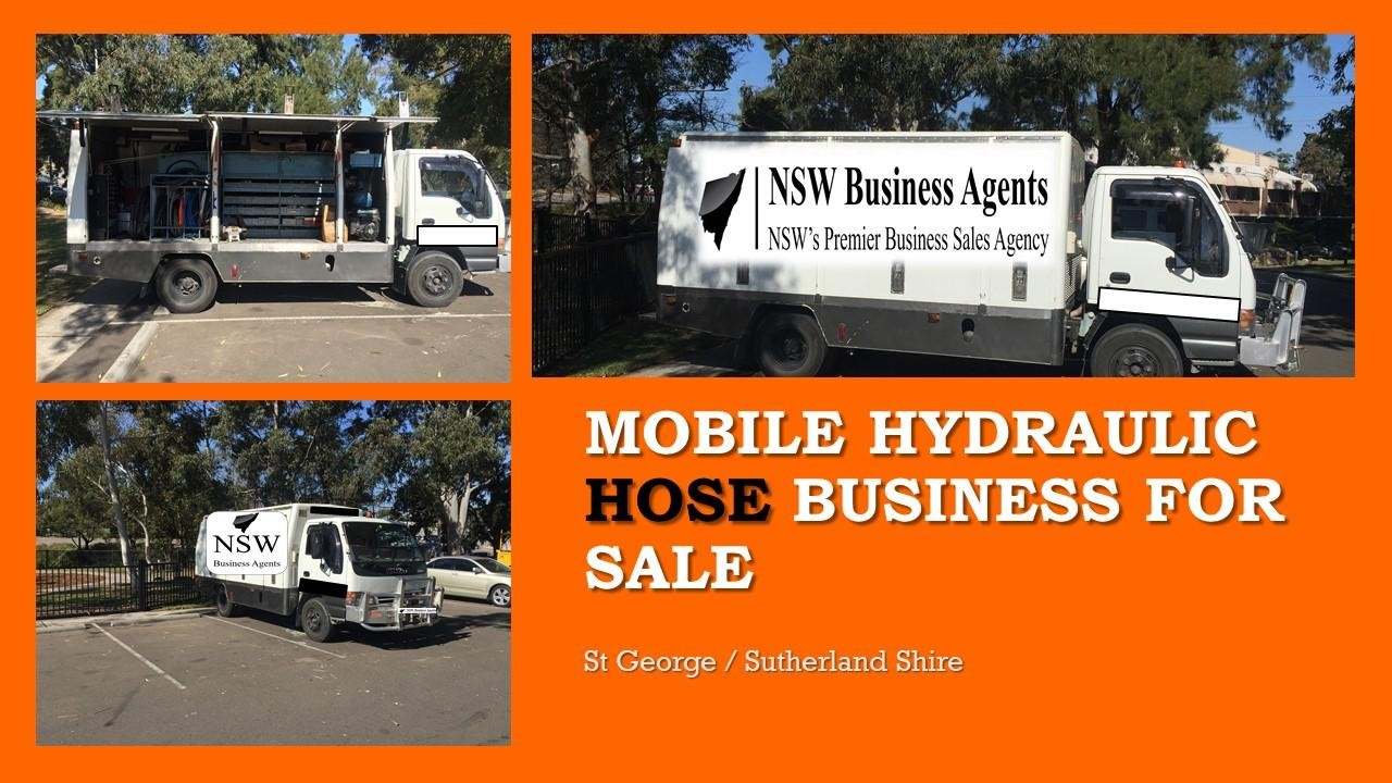 Mobile Hydraulic Hose Great business for a person looking for their own business