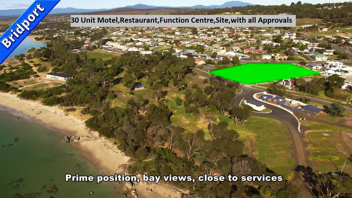 Tasmanian 30 unit Approved Motel, licensed 200 seat Function Center Development