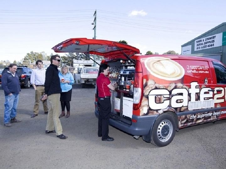 Cafe2U Mobile Coffee Franchise