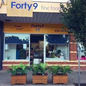 Forty9 Fine Food and Catering - Mt Eliza Village UNDER OFFER