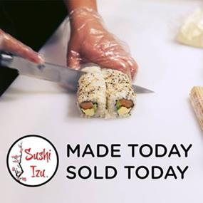 Sushi Izu Hybrid style Sushi is a new innovation in Sushi - Mt Hutton