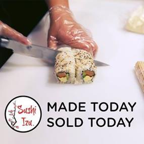 Sushi Izu Hybrid style Sushi is a new innovation in Sushi - Mt Hutton