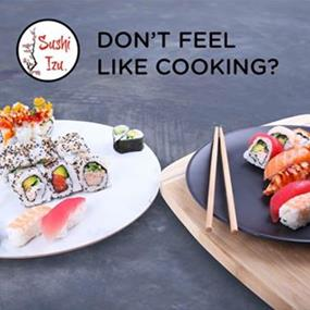 Sushi Izu Hybrid style sushi is a new innovation- Kippax