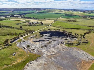 Callington Quarry - Mine Tenement. 121HA, 300 acres (approx.)