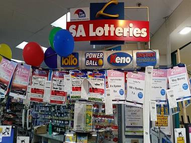 Newsagency, lotto & gifts