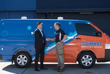 Swimart, Australia's pool & spa specialist. Mobile service franchise, Adelaide