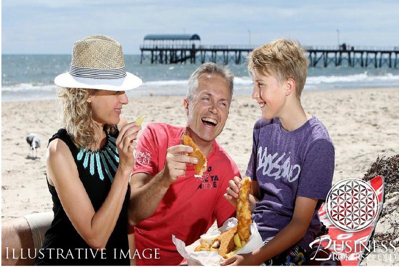 Beachside fish and chip