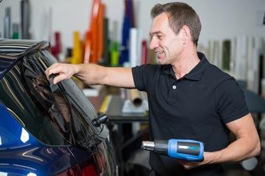 Commercial/Retail Window Tinting - Equipment & Workshop Included