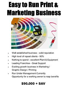 Easy to Run Print & Marketing Business