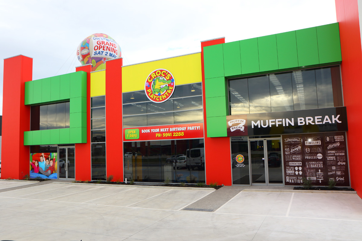New Play Centre & Cafe, Make Bethania Croc's Playcentre, QLD yours!