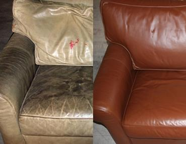 Leather Furniture Cleaning, Repair and Restoration Services