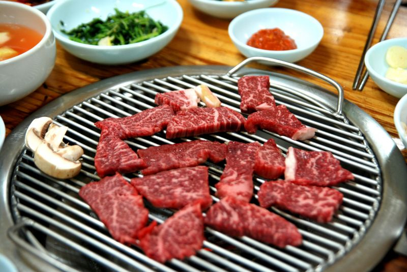 Funky Korean BBQ restaurant for sale in Sydney. Located in bustling North Shore