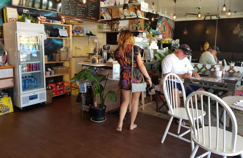 Fantastic cafe on the harbour foreshore water views for sale lower north shore S