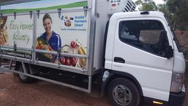 Transport & Home Delivery Fruit & Vegetables-Groceries & Milk Exclusive