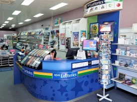 GOSFORD NEWSAGENCY- Lotto- Lottery- Cards, Gifts & More - Massive Current CBD