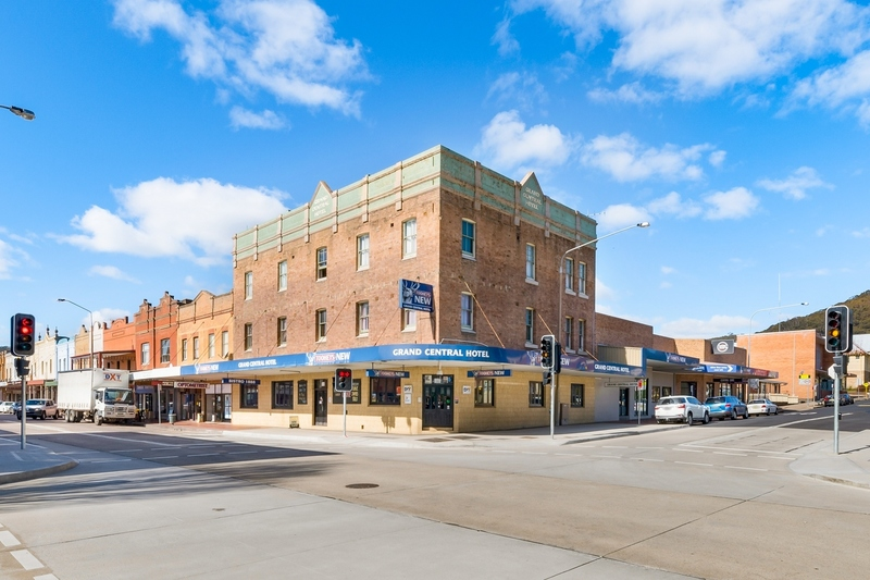 Freehold Hotel for Sale - Grand Central Hotel, Lithgow