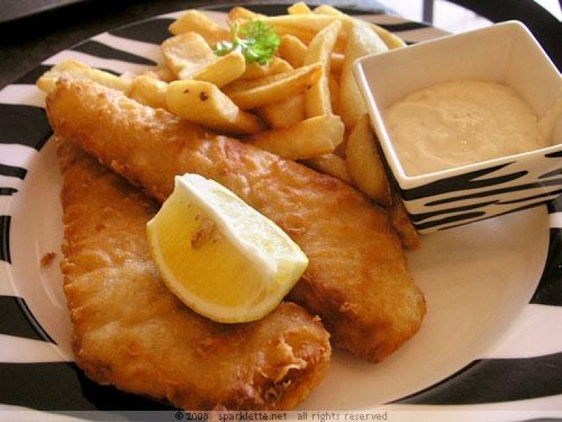 FISH & CHIPS -- BLACKBURN -- #3925326
