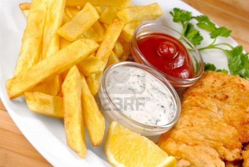 FISH & CHIPS -- ESSENDON -- # 3960083