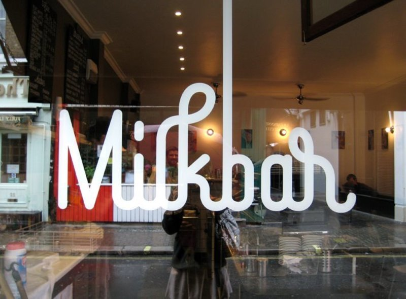 MILK BAR -- BRUNSWICK -- #4321841