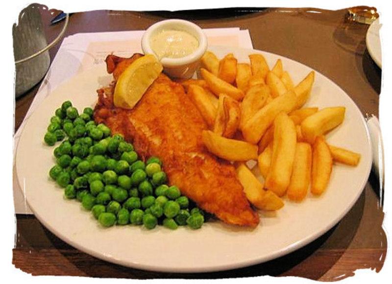 FISH & CHIPS -- RICHMOND -- #4276617