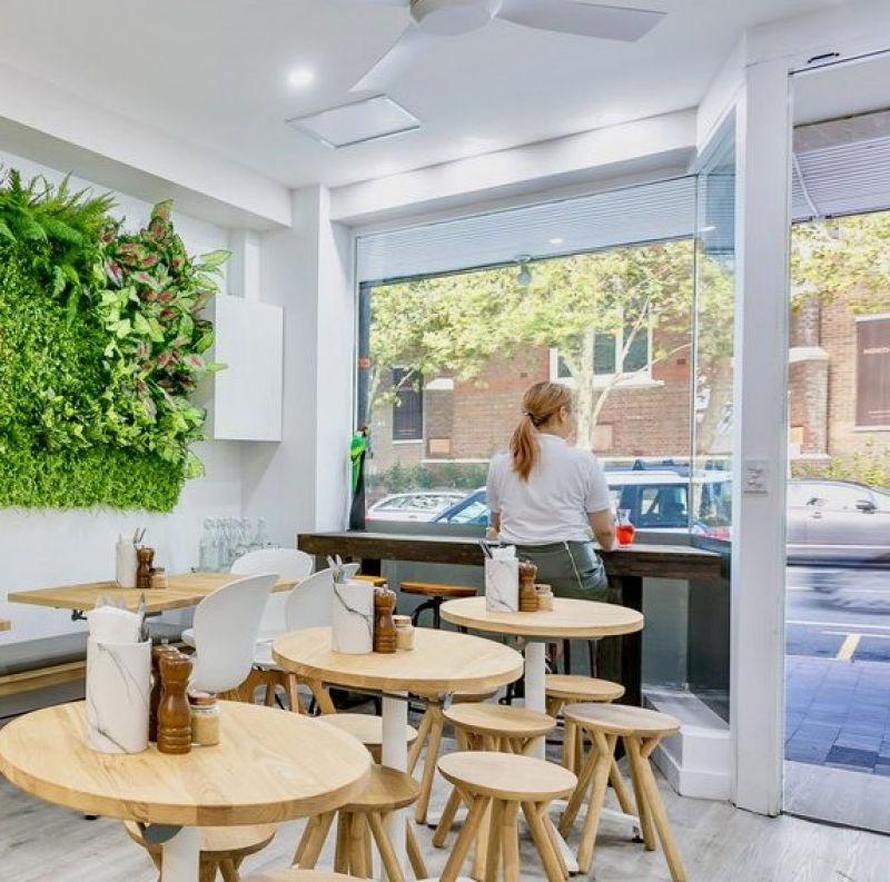 Innovative Salad and Coffee Bar perfectly positioned in Crows Nest Sydney.  Serv