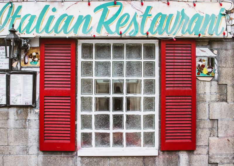 Long established Italian restaurant and Pizzaria, Busy City fringe location, Sup