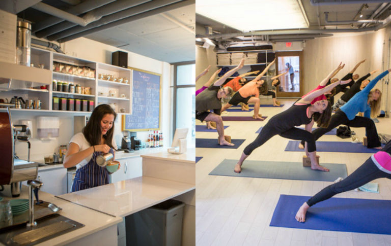 Yoga / Fitness Studio with Cafe for Sale