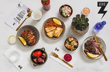 ZEUS: Modern 'Greek Street Food' restaurant! Casual Dining Franchise @ The Glen