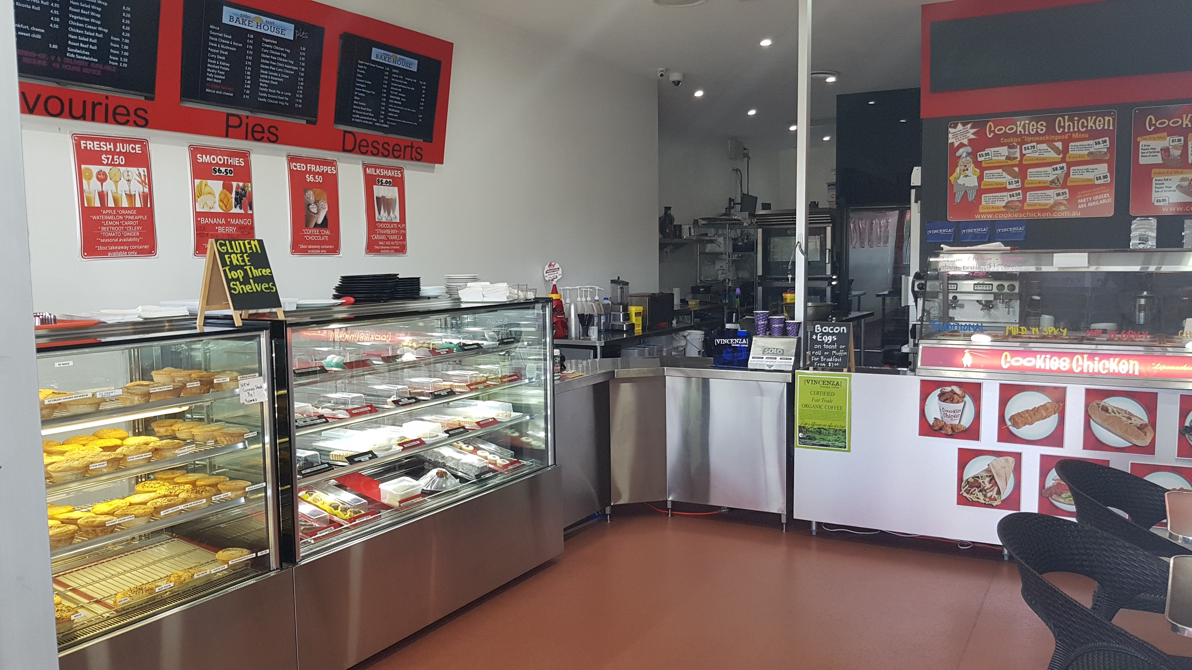 Award Winning Pie Shop/Lunchbar