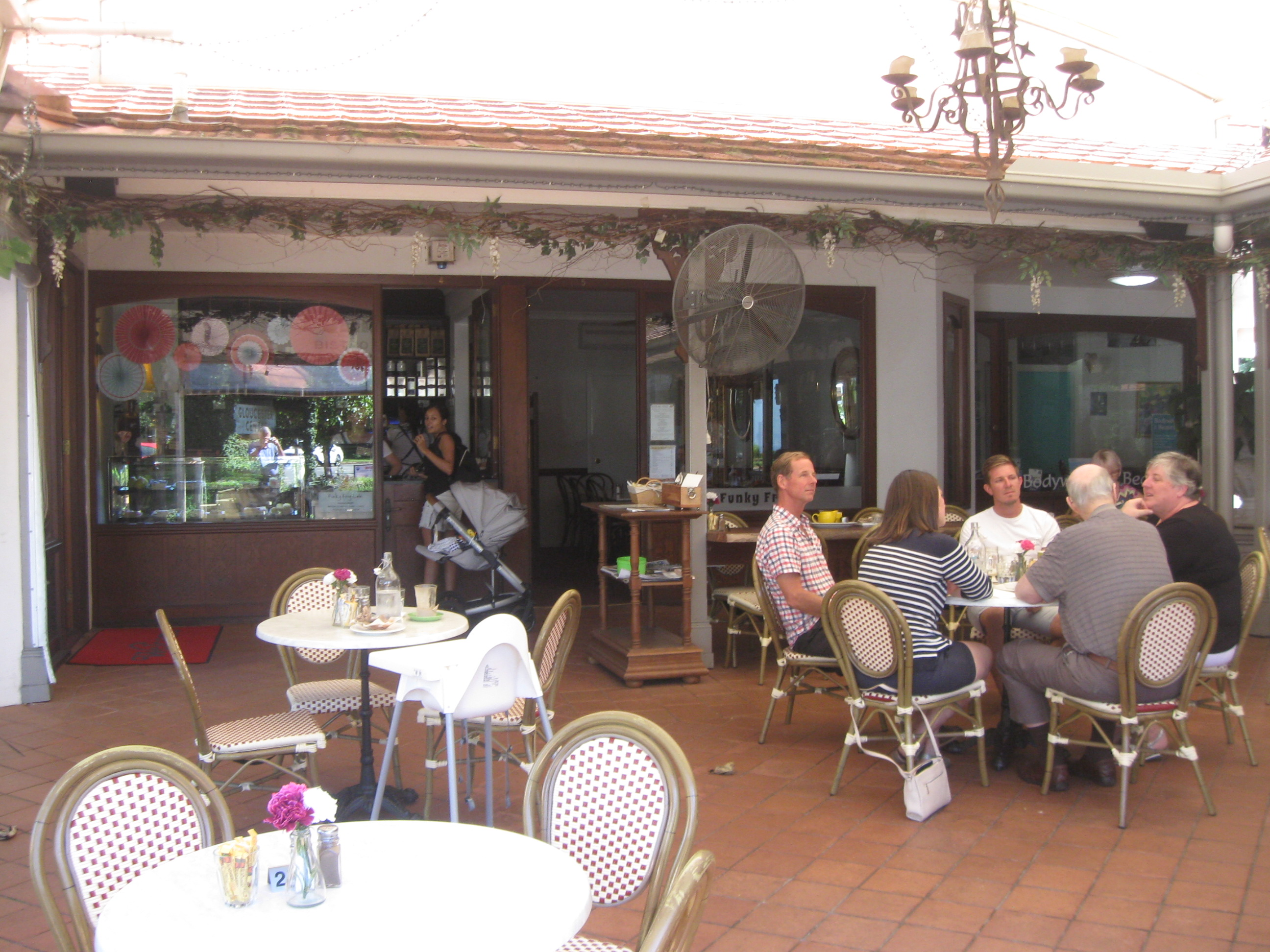 A Favourite Cafe with the Locals