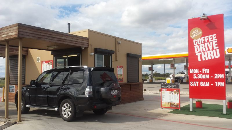 Drive Thru Building and business for sale