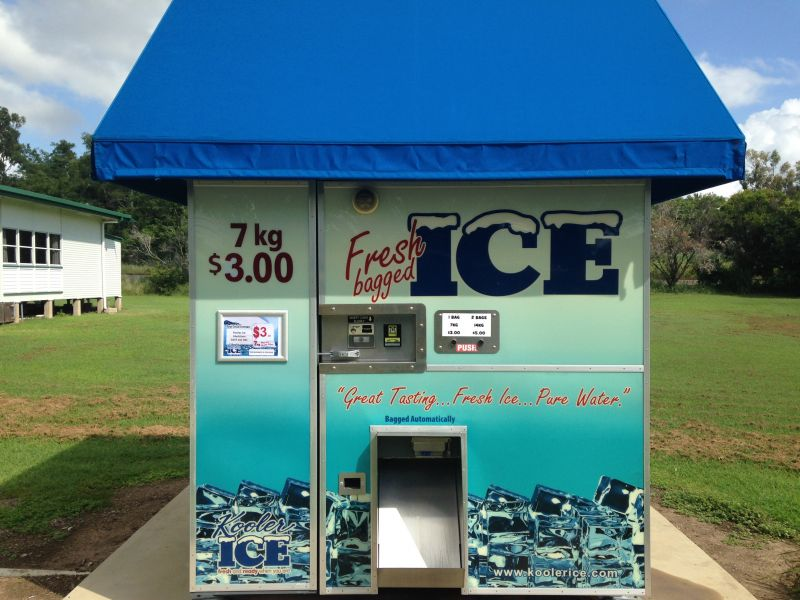 Kooler Ice Vending Machine