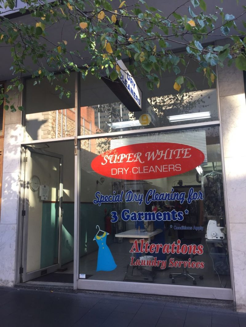 Super White Dry Cleaners