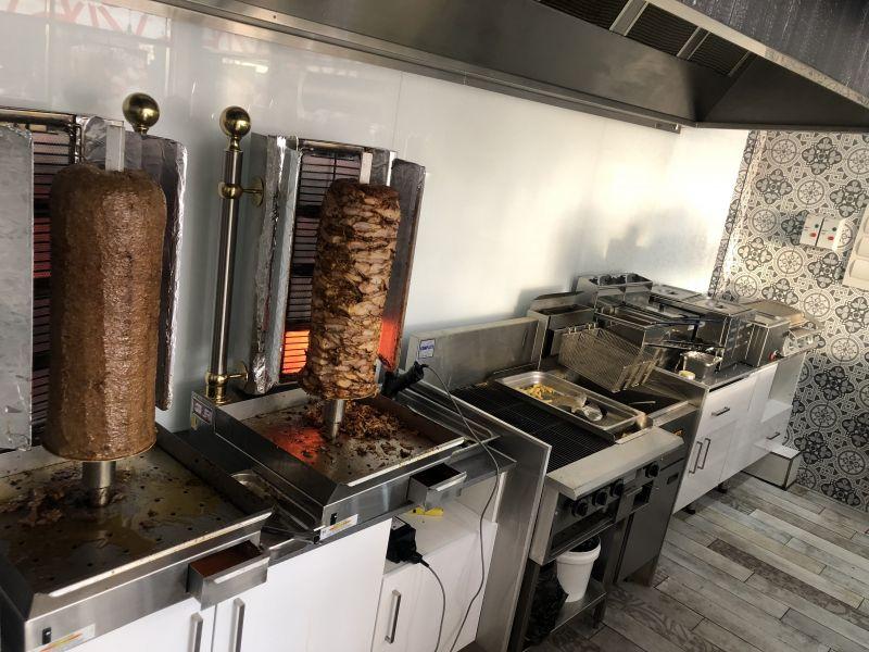 Kebab Shop - Taking 10,000 week - rent $820 week inc GST and outgoings - Only ke
