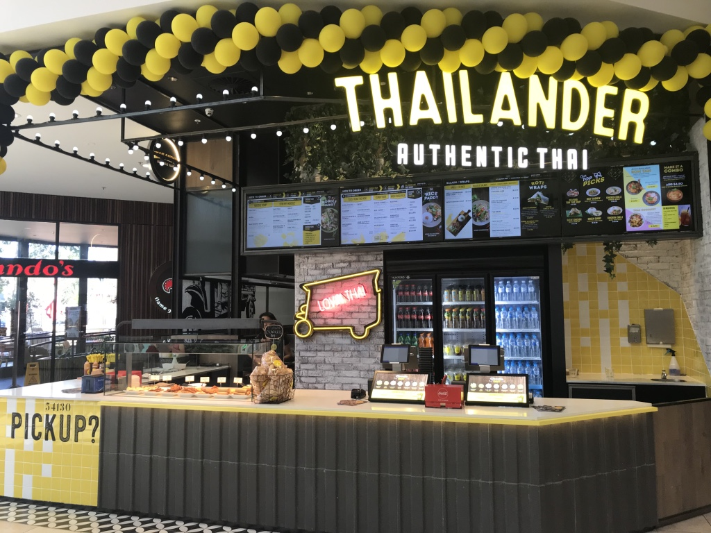 Exciting Thai food franchise. New store @ Greensborough Plaza Shopping Centre