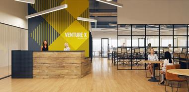 Venture X -  leading innovator in the Co-working office space industry Adelaide
