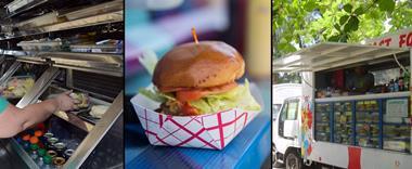 Industrial Cafe for sale 5 Mobile Food Trucks & Huge Support Commercial Kitchen