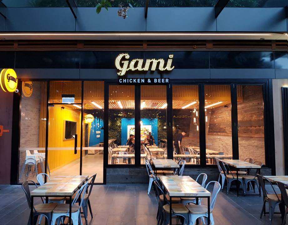 Gami Chicken & Beer - Featured on Channel 7 - Westfield Woden opportunity