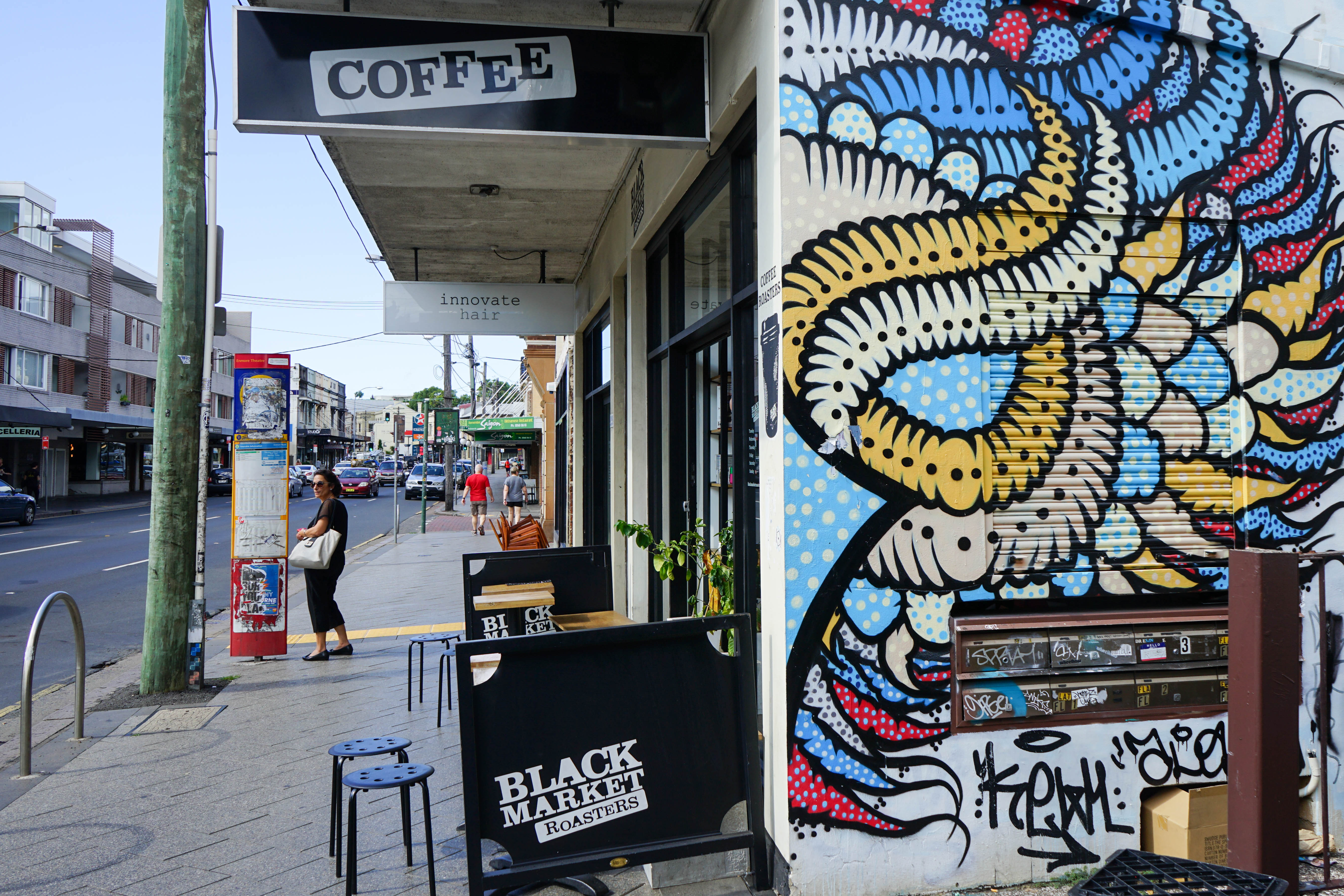 High Volume cafe in Enmore Easy to Run / Low Rent / Be Quick