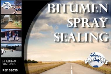 68/035 Bitumen Spray Sealing, Priced to Sell