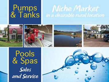 68/071 Pumps, Tanks, Pools and Spa's Sales and Service