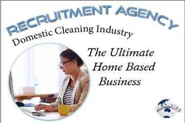 68/055 Recruitment Agency - Specialising in the Domestic Cleaning Industry
