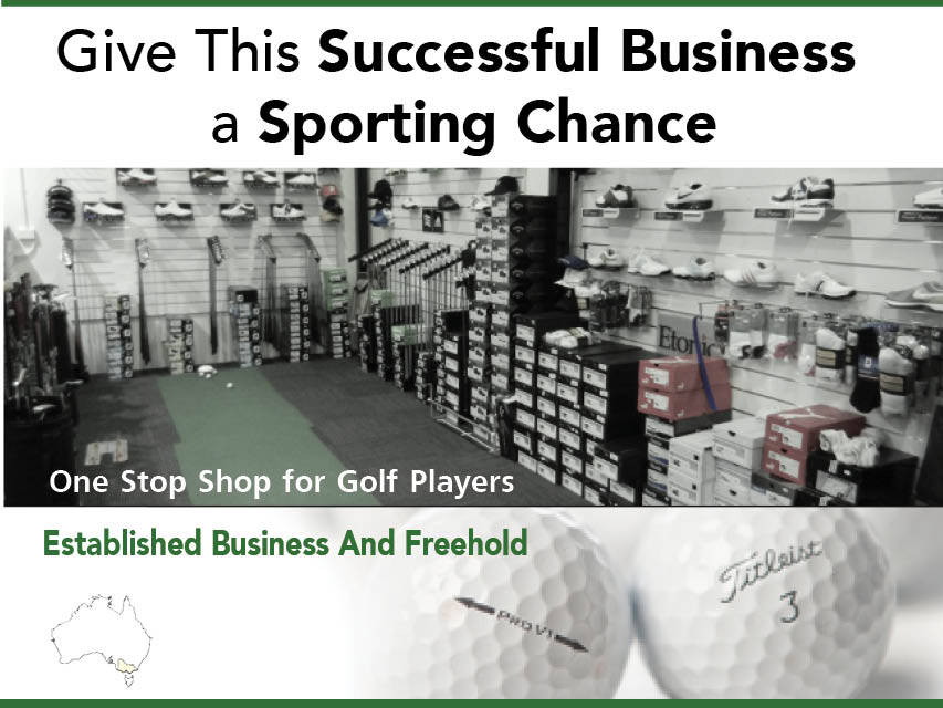N8/083 Buy a Give This Successful Business a Sporting Chance