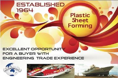 68/037 Plastic Sheet Forming - Vendor Seeking Retirement