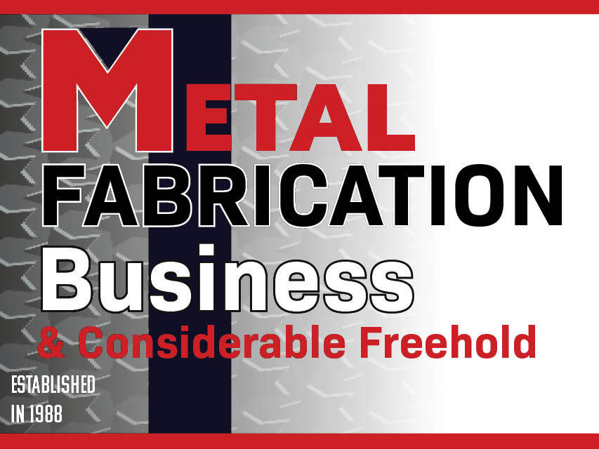 N8/107 Metal Fabrication and Considerable Freehold
