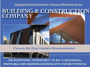 68/034 Commercial Building & Construction  - Interstate Expansion Opportunity