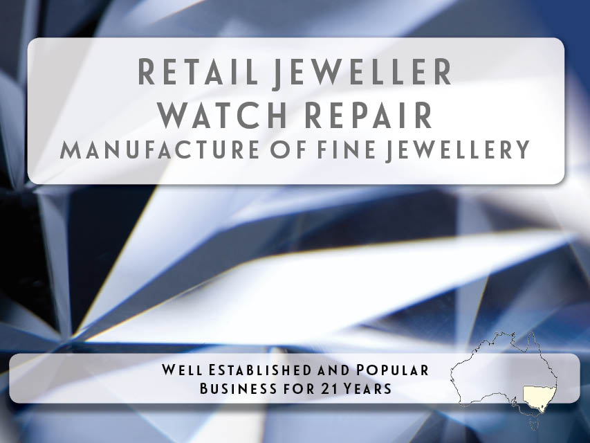 N8/097 Retail Jeweller  | Watch Repair  |  Fine Jewellery Manufacturer