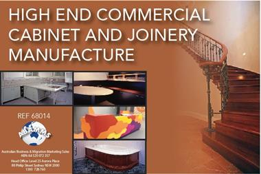 68/014 High End Commercial Joinery Manufacture